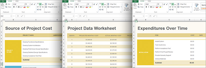Windows Forms Excel Editing and Formatting