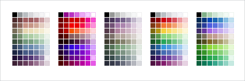 Customize Your Palettes