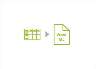 Write WordML documents