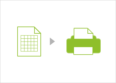 Use the NetAdvantage equivalent to Microsoft printing to print documents from your applications.