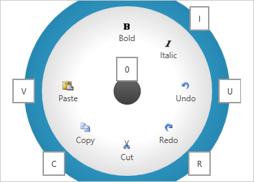 WPF Radial Menu