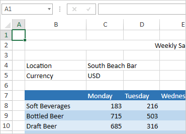 WPF Spreadsheet